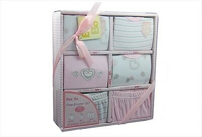 New Pink 'Now & Later' gift box - baby girl