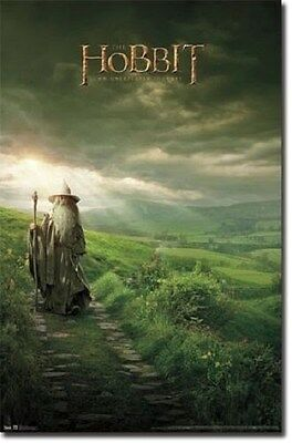 LORD OF THE RINGS THE HOBBIT ONE SHEET POSTER PRINT NEW 22x34 FREE SHIPPING