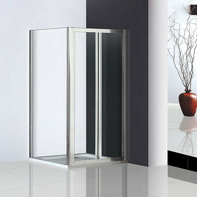 Walk In Pivot Shower Door Enclosure Glass Screen Cubicle Side Panel Stone Tray