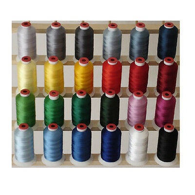 WINTER 24 CONES POLYESTER MACHINE EMBROIDERY THREAD THREADELIGHT 1100yds 40wt
