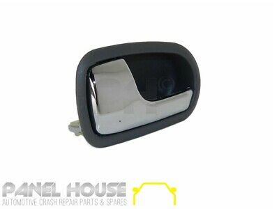 Ford Laser KN KQ 98-02 Sedan LEFT Front Interior Chrome Grey Door Handle Inner