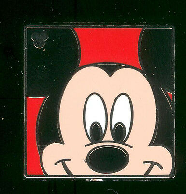 DLR 2012 Hidden Mickey Character Faces Mickey Mouse Disney Pin 88749