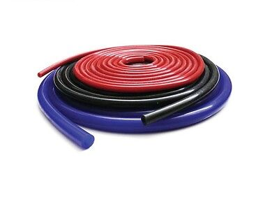 SILICONE VACUUM BREATHER HOSE PIPE SIZES-  3,4,5,6,8,10mm BLUE BLACK RED