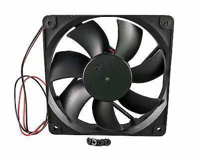 120mm 25mm New Case Fan 12V 71CFM PC CPU Cooling Computer Ball Brg 2 Wire 377*