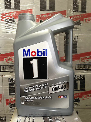 Mobil 1 Engine Oil [Melbourne Address ONLY] 0W40 4.73L (5 QT Bottle)