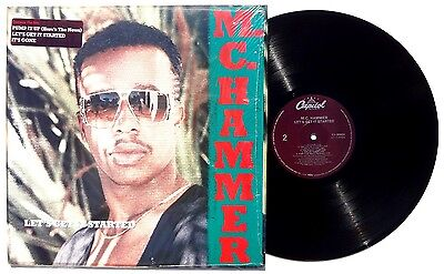 MC HAMMER: Lets Get Started LP CAPITOL RECORDS C190924 US 1988 In Shrink NM+
