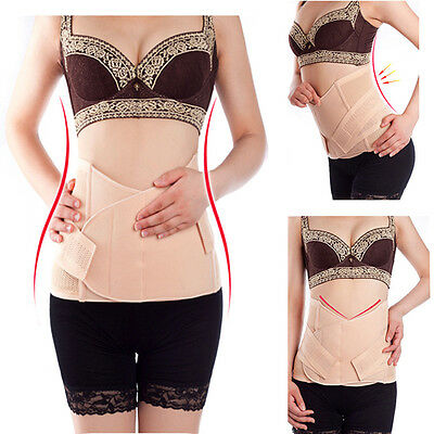 Small Medium Large XL Postpartum Recovery Slimming Belly Waist Body Belt Band