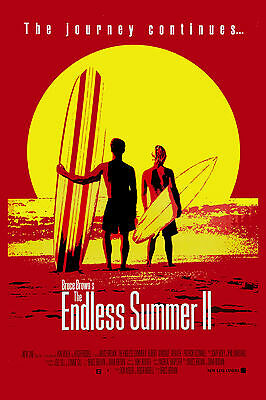 Surf Classic:  * ENDLESS SUMMER II *  Movie Poster 1994