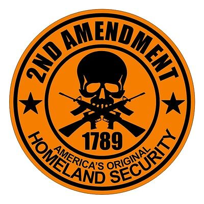 b0d4e8e9321 2nd Amendment Hard Hat Decal   Helmet Sticker   Vinyl Label Motorcycle  Safety MX