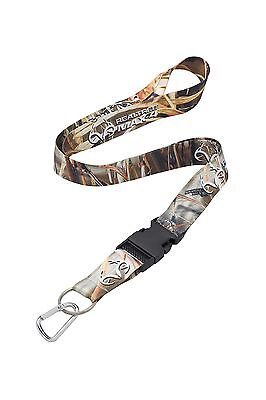 RealTree Max-4 Camo Neck Strap Lanyard With Quick Release & Carabiner Key-Ring