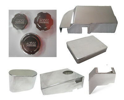 Alloy Engine Bay Accessories Billet Cap Dress Up Kit Ford Falcon FG XR6  NEW