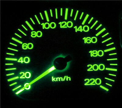 Ford Falcon AU Series 1 Green LED  Dash Instrument Cluster Light Conversion Kit