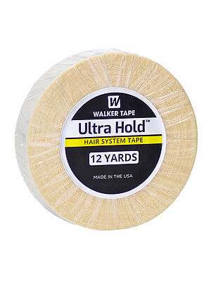"Walker Tape Ultra Hold Hair Tape Adhesive 3/4"" x 12yds - Wig, Toupee, Hairpiece"