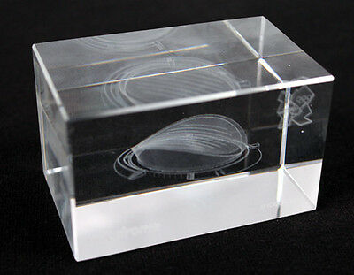 OLYMPICS Engraved 3D Block - - Velodrome - London 2012, Collectors, gift present