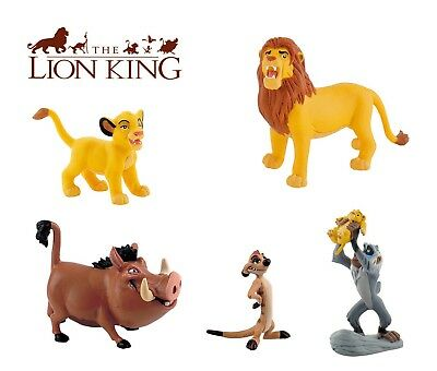 BULLYLAND DISNEY LION KING FIGURES -  Choice of 5 of different figures