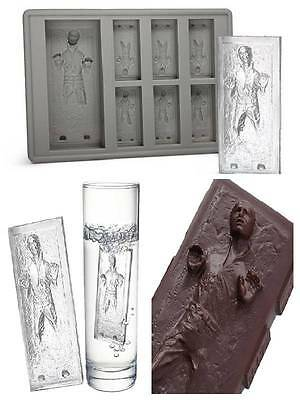 Star Wars Hans Solo Silicone Chocolate Ice Soap Cake Mould Mold Party Novelty