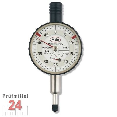 Meßuhr Messuhr 0 - 3 / 0,01 mm Mahr Made in Germany MarCator 803A NEU OVP