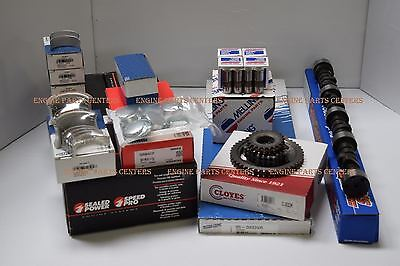 Chevy 327 MASTER Engine Kit 350 HP cam #3863151 1962 63 pistons double roller