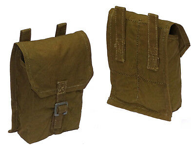 GENUINE ARMY SURPLUS GRENADE POUCH FITS ANY BELT cartridge bag shooting hunting
