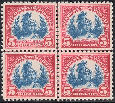 #573 Xf-Superb Og Nh Centerline Block Wl3865 Key
