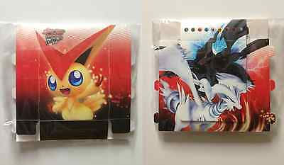Pokemon 2011 Value Pack Victini Reshiram Zekrom Fold Up Deck Box