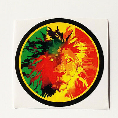 Lion of Judah Sticker decal vinyl rasta rastafari jamaica reggae africa vw car