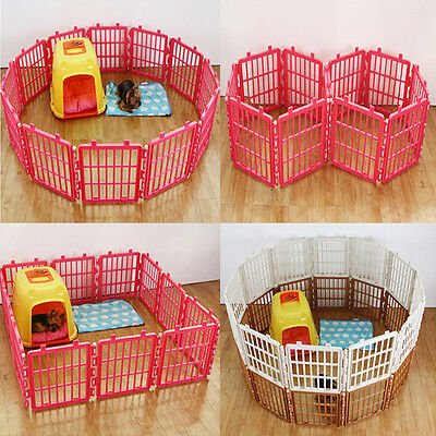 PET Safe Pen Fences Kennel Cage Assembly Pets Supplie Exercise Pens Dog Cat Pet