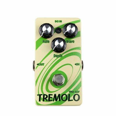 New Crossfire Tremolo Electric Guitar Effects Pedal FX