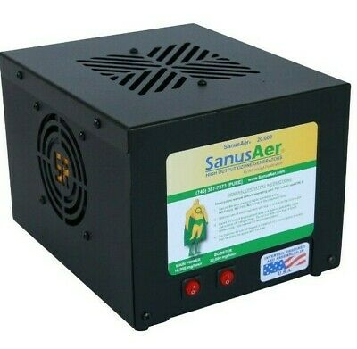Commercial Ozone Generator Air Purifier Mold Allergen Smoke Odor SanusAer 14000