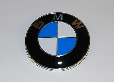 Bmw Logo Emblem Front Hood Rear Trunk Lid Badge Roundel