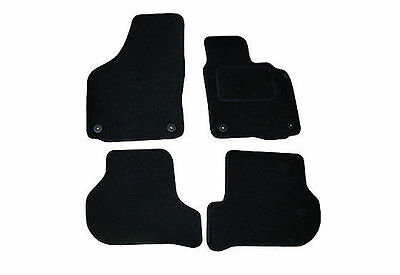VW Scirocco Tailored Car Mats 2008 onwards - Black