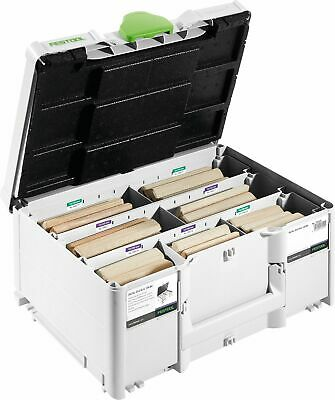 Festool DOMINO XL Buche Sortiment DS/XL D12/D14 128 BU | 498205
