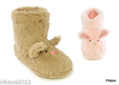 girls boys childrens novelty  boots kids bootie slippers size 13/1 2/3 9/10 new