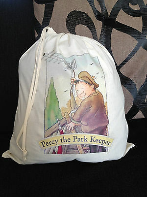 Percy the Park Keeper Empty Story Sack/Teaching Resource bag
