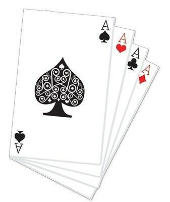 Hand of Playing Cards Cardboard Cutout 152cm Tall - Great for Casino Parties