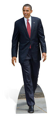 President Obama Cardboard Cutout Fun Figure 186cm Tall - Great for Parties
