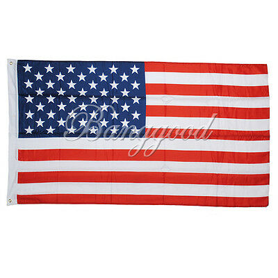 3'x5' 3x5ft United States American US USA Flag Stars Banner Pennant Grommets hot