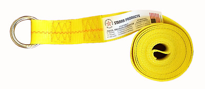 """(20) 2"""" X 10Ft Lasso Strap, For Towing, Tow Dolly,wheel Lift, Axle Sling, Clevis"""