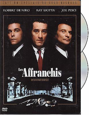 Les Affranchis (Goodfellas) - 2 Disc - French Artwork **Entire Movie On 1 Side**