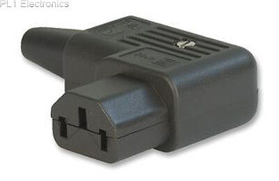 Schurter - 4785.0000 - Socket, Iec, Rewireable, Right Angle