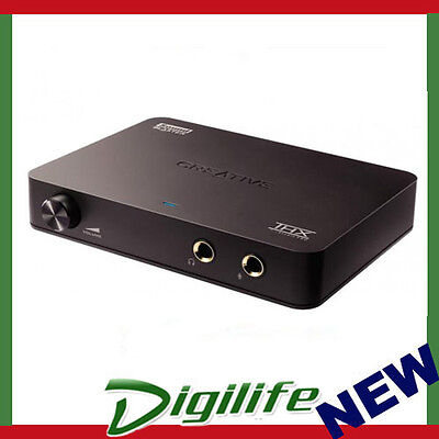 Creative Sound Blaster X-Fi HD USB Audio System with Phono Preamp