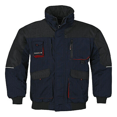 Outdoorweste workwear Arbeitsweste Winterweste Sicherheit anthrazit Gr 48-66 +