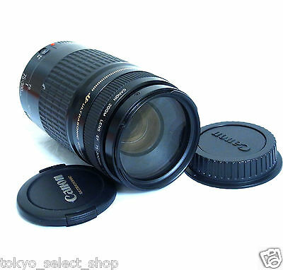 CANON EF 75-300mm F/4-5.6 USM ZOOM LENS Telephoto Made in Japan Excellent!