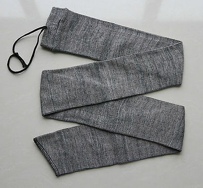 "Grey Silicone Treated Gun Sleeves 54"" Gun Rifle Shotgun Sock Case Firearm"