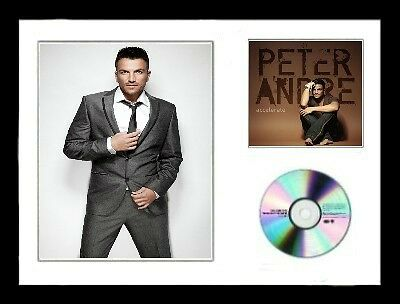 Peter Andre / Limited Edition / Framed / Photo & CD Presentation / Accelerate