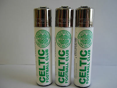 3 Official  Genuine Celtic Football Club  Clipper Lighter Ideal gift
