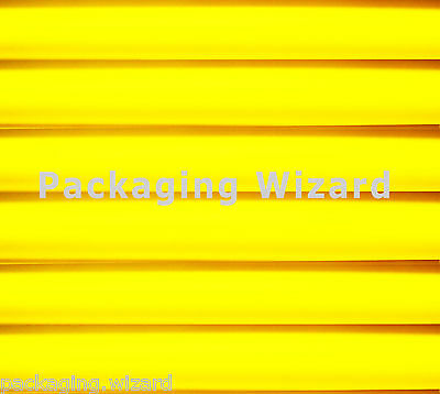 Yellow Tissue Paper ~ Large Sheets - 500mm x 700mm ~ 18gms ~ Qty to Select