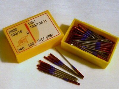 Singer Sewing Machine Needles German Stretch / Ball Point Size 100/16 Box of 100