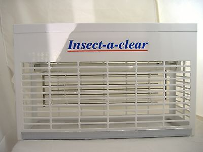 Insect-a-clear Twin Tube Electric Fly Killer & Pest control Mains Plug in  New