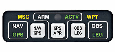 """Mid Continent Inst Md-41-1328 Gps Annunciator Cntrl """"below Cost"""" """"look"""" !!"""